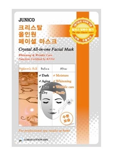 Junico Crystal Hyaluronic - Hyalüronik Asit İçeren Onarıcı Yüz Maskesi Renksiz